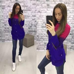 Рубашка с длинным рукавом У9554