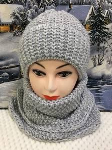 Шапка и шарф Хомут П1814