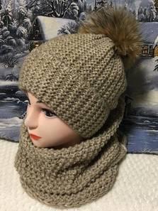 Шапка и шарф Хомут П1851