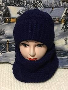 Шапка и шарф Хомут П1816