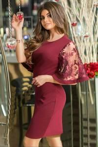 Платье короткое нарядное современное Т6918