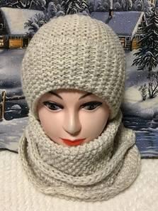 Шапка и шарф Хомут П1817