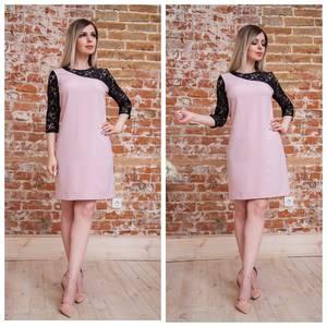 Платье короткое нарядное современное Т7561