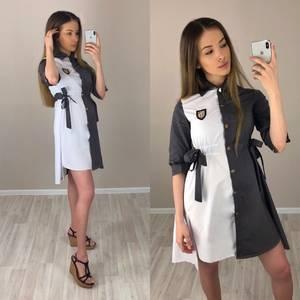 Платье короткое нарядное современное Т7627