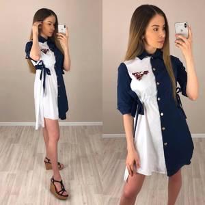 Платье короткое нарядное современное Т7626