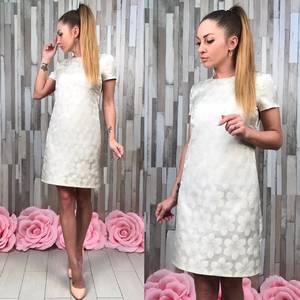 Платье короткое классическое Т4933