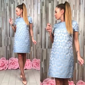 Платье короткое классическое Т4934