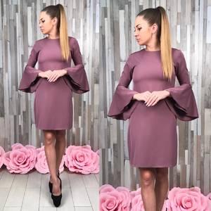 Платье короткое нарядное классическое Т5008