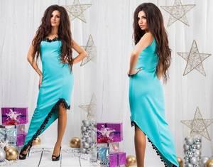 Платье короткое вечернее элегантное С8817