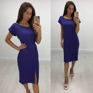 Платье короткое нарядное современное Т8229