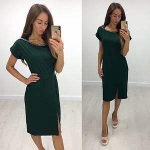 Платье короткое нарядное современное Т8230