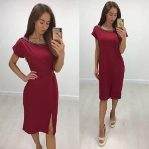 Платье короткое нарядное современное Т8232