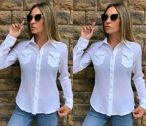 Рубашка белая Т8290