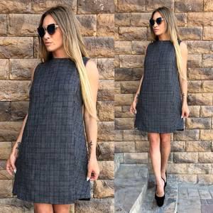Платье короткое без рукавов современное Т6501