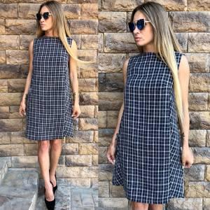 Платье короткое без рукавов современное Т6502