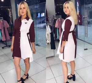 Платье нарядное современное короткое Т8284