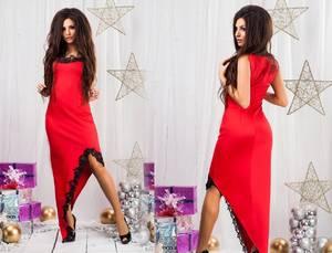 Платье короткое вечернее элегантное С8819