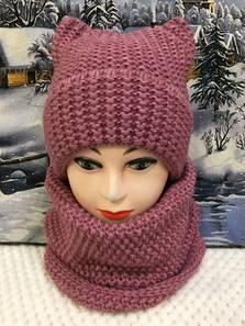 Шапка и шарф Хомут П1803
