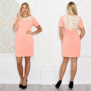 Платье короткое элегантное облегающее Т0930