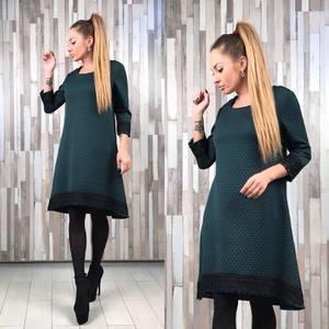 Платье короткое нарядное футляр Р2329