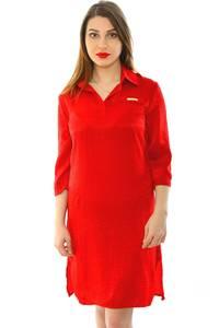 Платье короткое современное однотонное Н5982