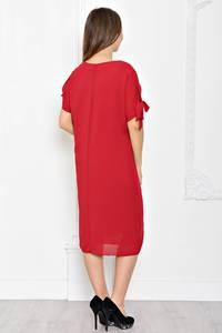 Платье короткое однотонное классическое Т1925