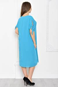 Платье короткое однотонное классическое Т1926