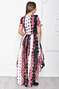 Платье короткое вечернее современное Т2233
