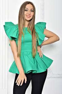 Блуза с баской летняя Т2260