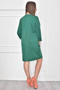 Платье короткое с принтом современное Т7440
