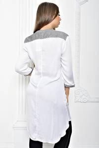 Рубашка белая однотонная Т2423
