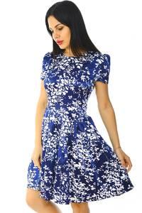Платье короткое летнее нарядное Н5931