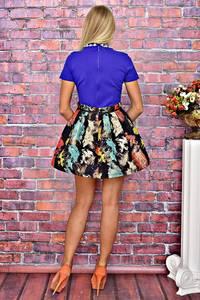 Платье короткое коктейльное элегантное Т5908