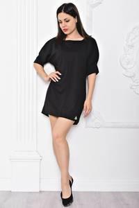 Платье короткое элегантное черное С9655