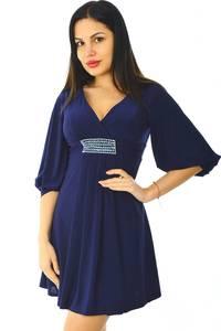 Платье короткое вечернее однотонное Н5935