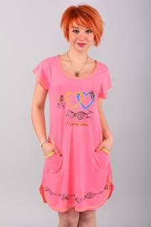 Домашнее платье В0064