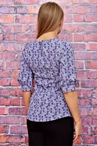Блуза с коротким рукавом для офиса Т4510