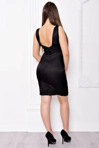 Платье короткое вечернее облегающее С9074