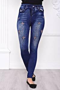 Лосины джинсовые С8435