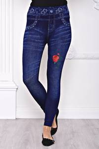 Лосины джинсовые С8436