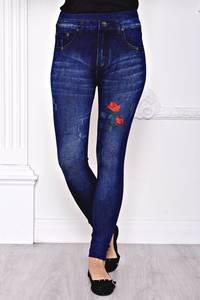 Лосины джинсовые С8437