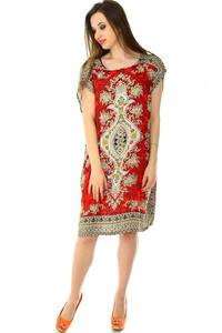 Платье короткое трикотажное нарядное Н7162