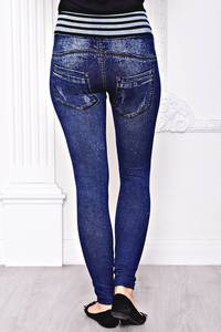 Лосины джинсовые С8441