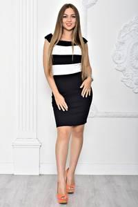 Платье короткое элегантное облегающее Т2390