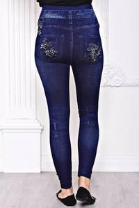 Лосины джинсовые С8445