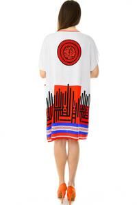 Платье короткое трикотажное нарядное Н7168