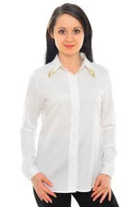 Рубашка белая с длинным рукавом М8839