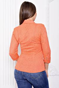 Блуза летняя с длинным рукавом С9122