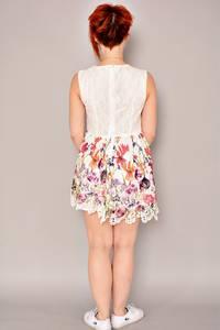 Платье короткое летнее нарядное К2782