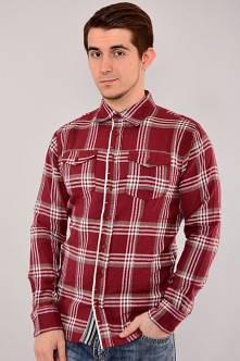 Рубашка N-13029(красн.+бел.)